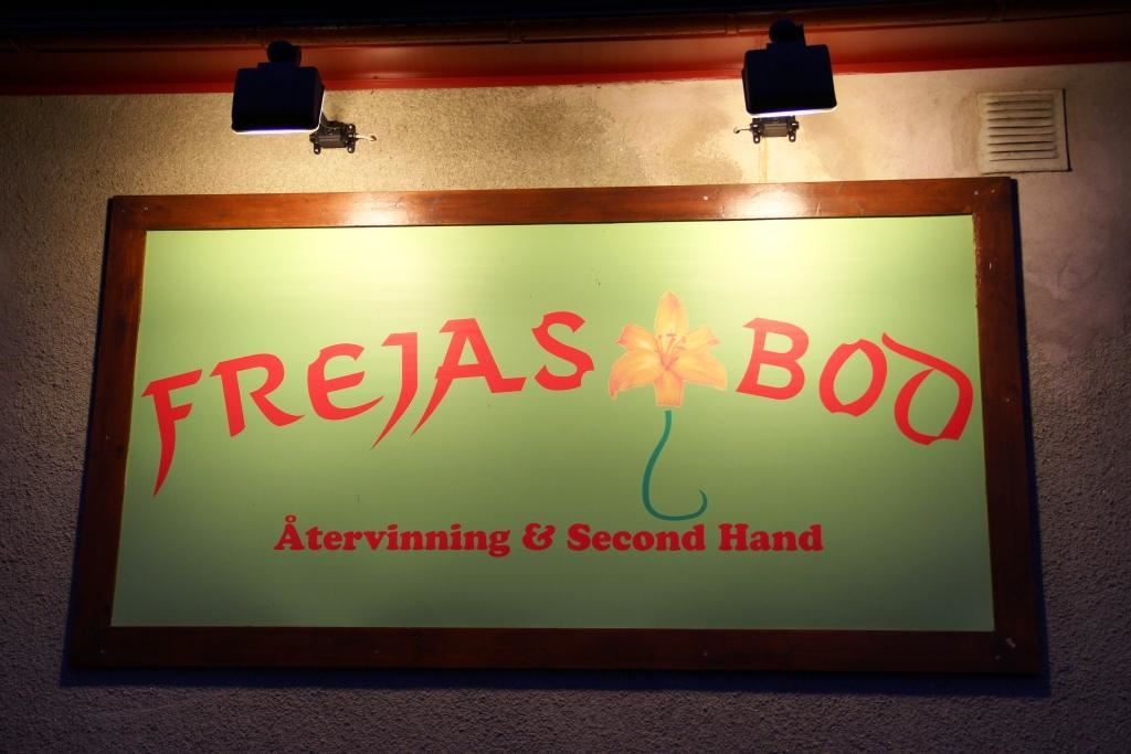 Frejas Bod - secondhandbutik