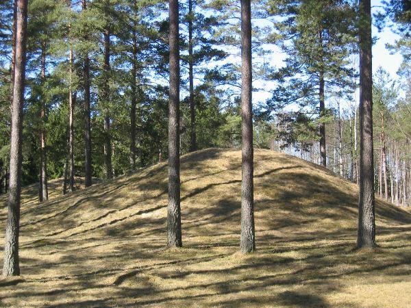 Gullhögarna burial site