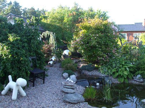 Ann Margreth och Jannes trädgård