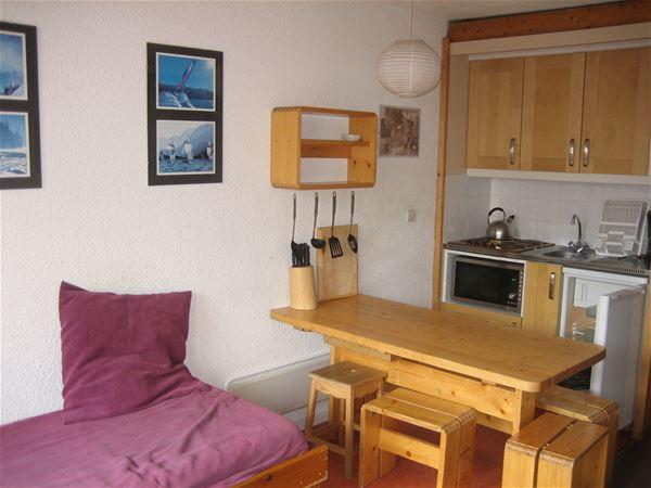 Lauzières 111 / Studio cabin 5/6 people