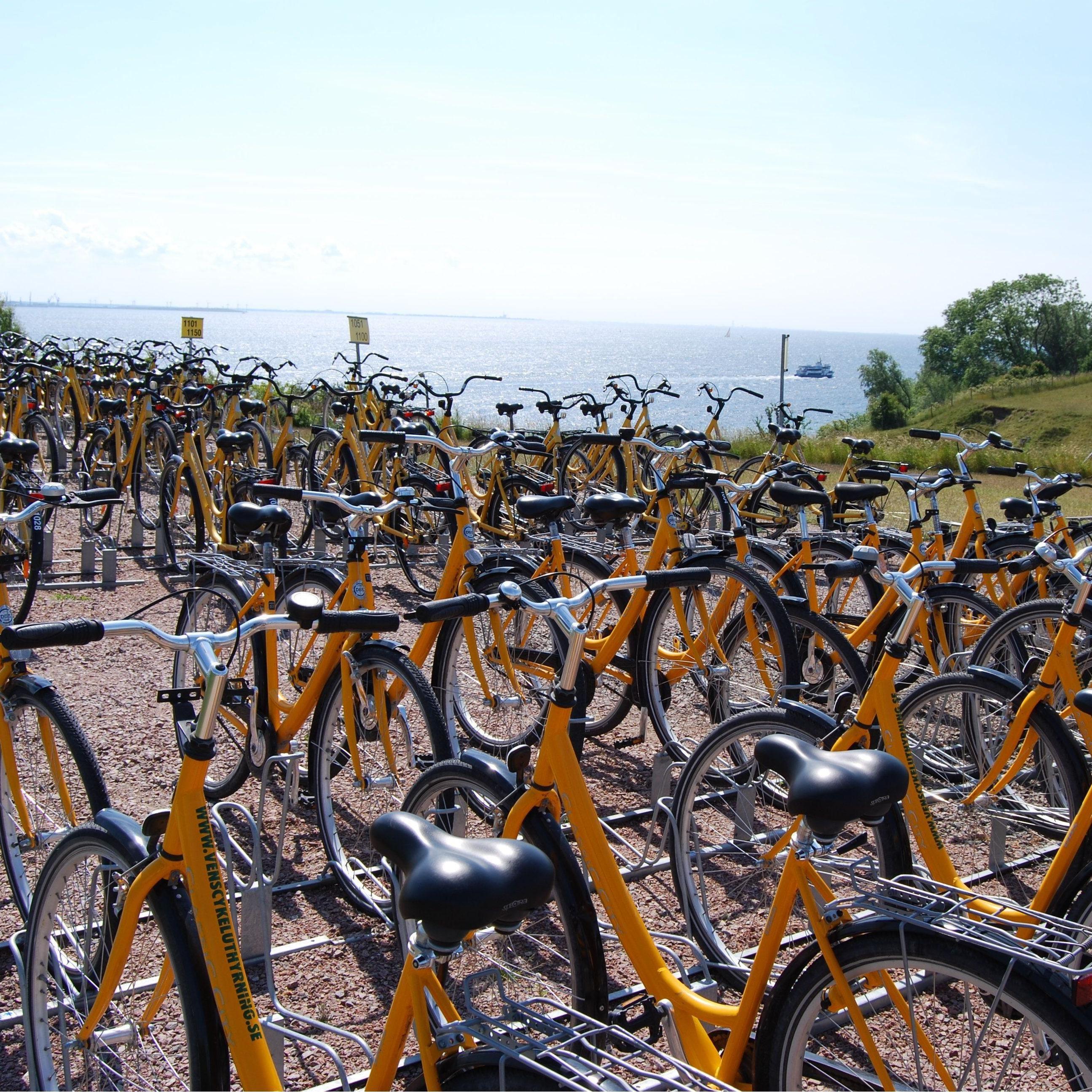 Biking on Ven