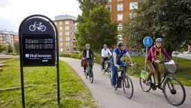 Bicycle tour Växjöåttan, 8 km