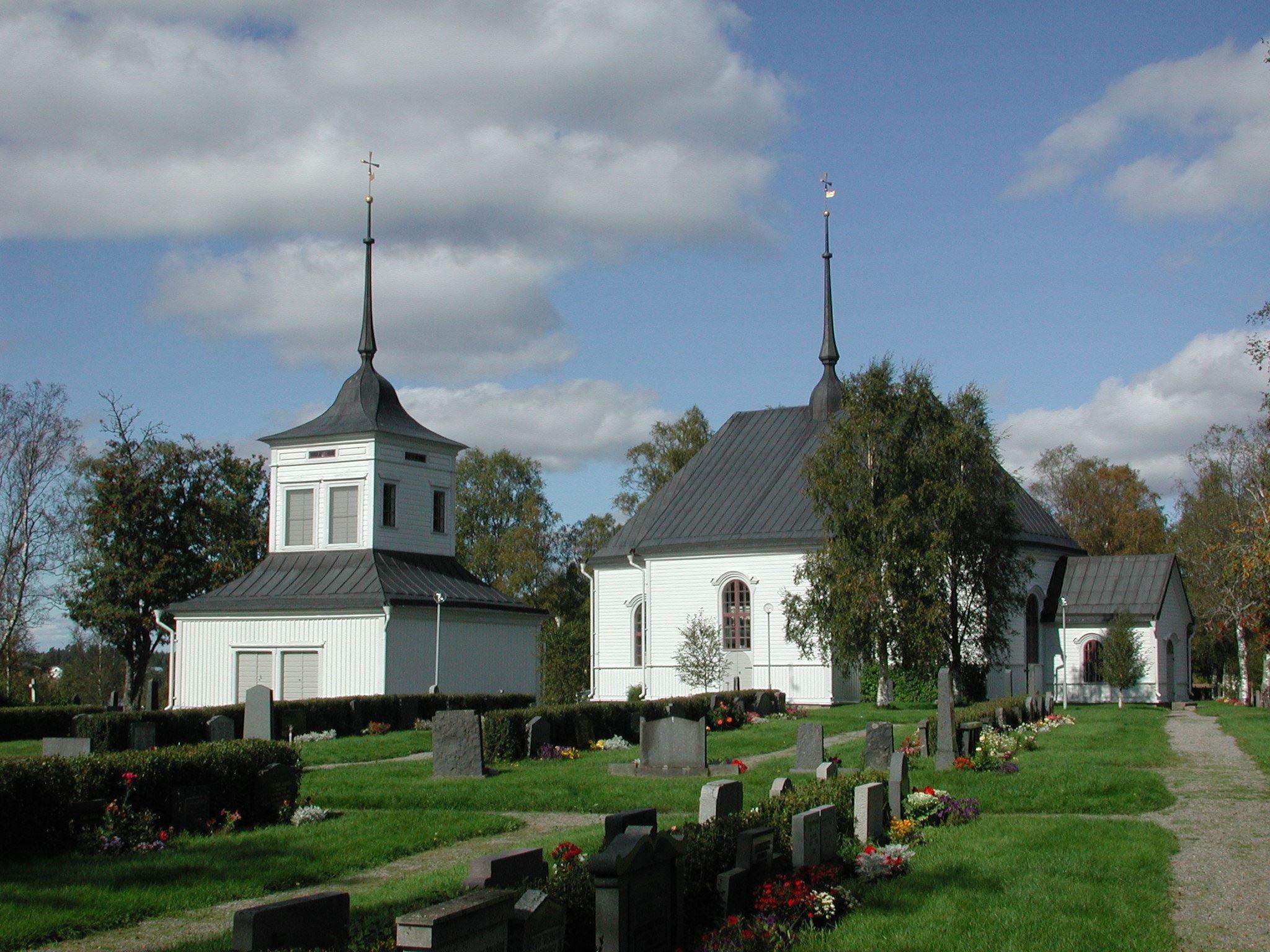 Die Kirche von Nysätra