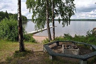 Karl-Göran Göransson, Lidnäs bathing place