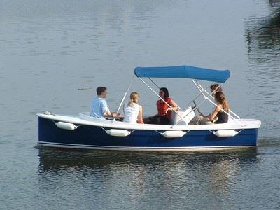Ruban Vert au départ de Vertou - location de bateau électrique sans permis