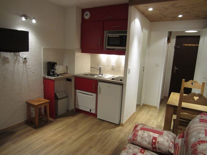 2 Pers studio, 150m from the slopes / ASTERS B2 724