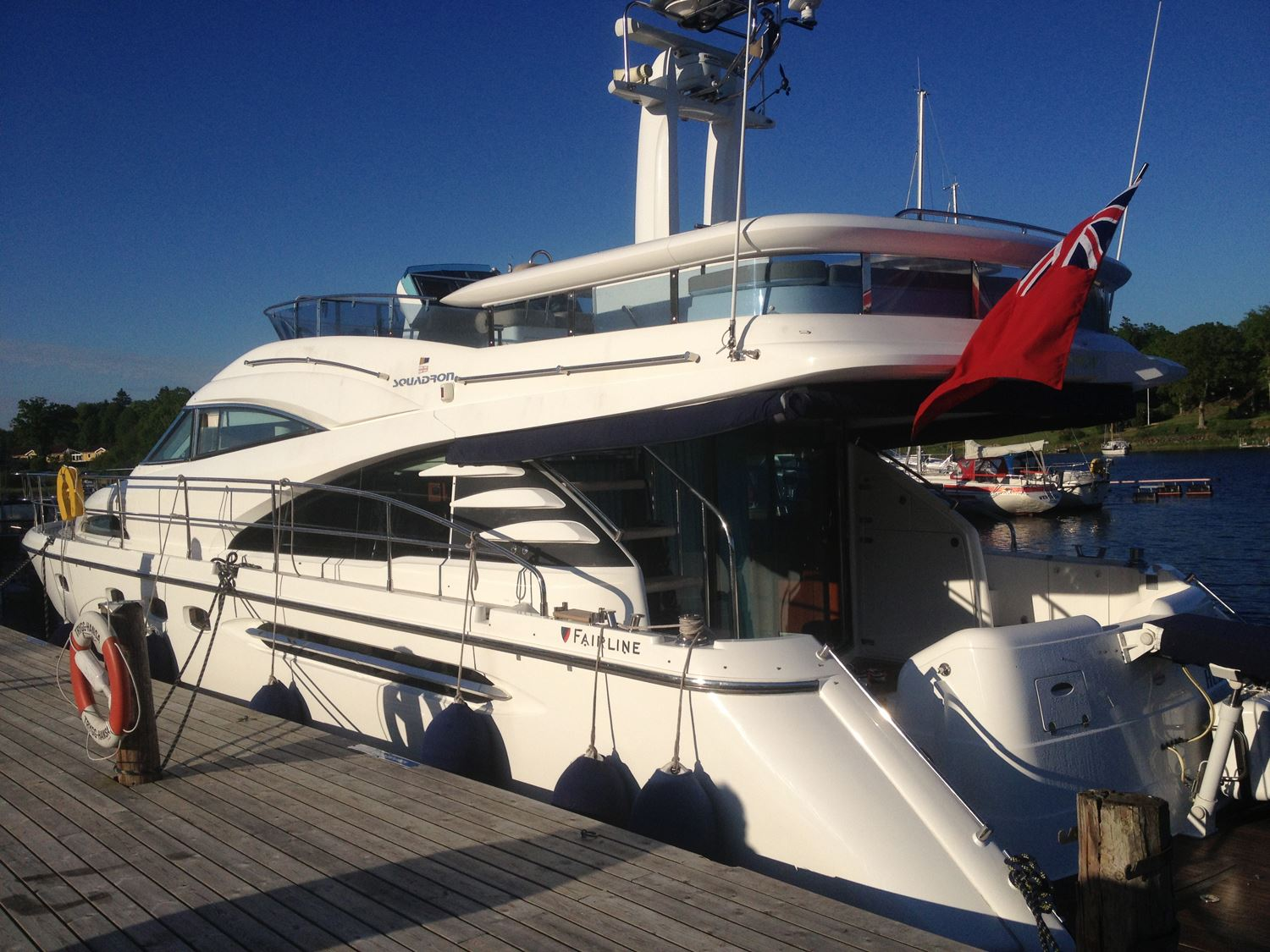 A luxurious tour with Fairline 58