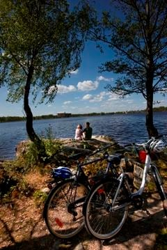 Bicycle tour Bergkvara 25 km
