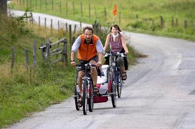 Fahrradtour Hemmesjö, 35 km