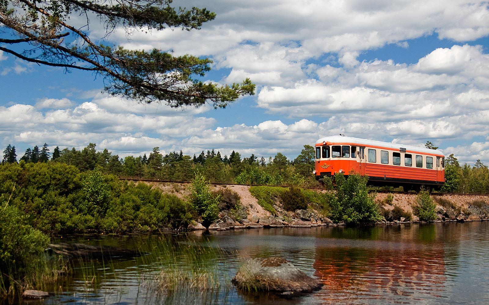 The narrow gauge – Nostalgia train Hultanäs – Åseda