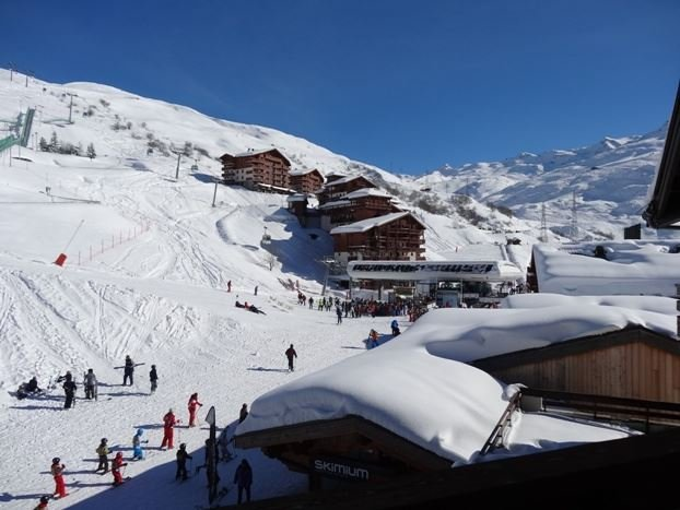 4 Pers Studio + cabin ski-in ski-out / OREE DES PISTES 37