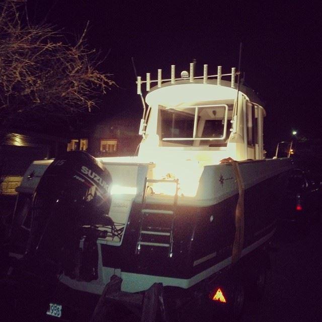 Nya charterfiskebåten!