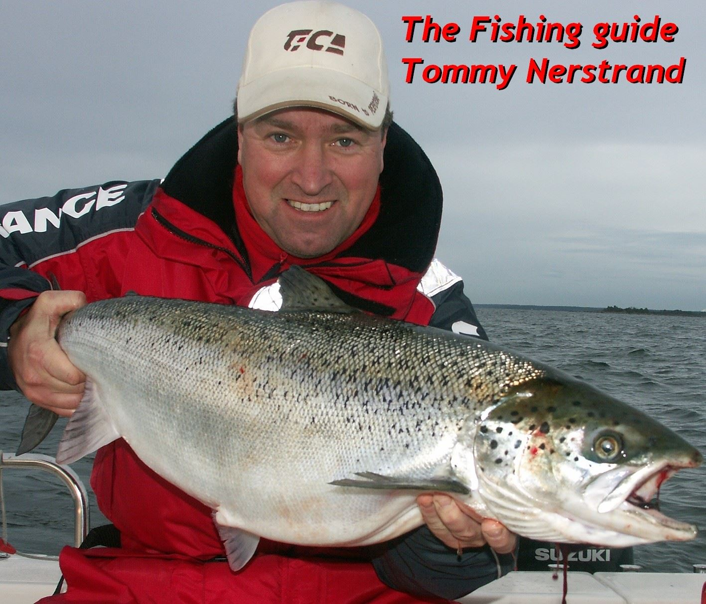 Sportfishing from boat with fishing guide Tommy Nerstrand