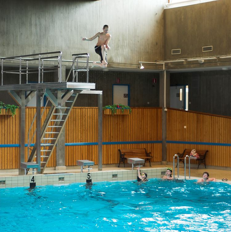 Ronneby indoor swimming pool
