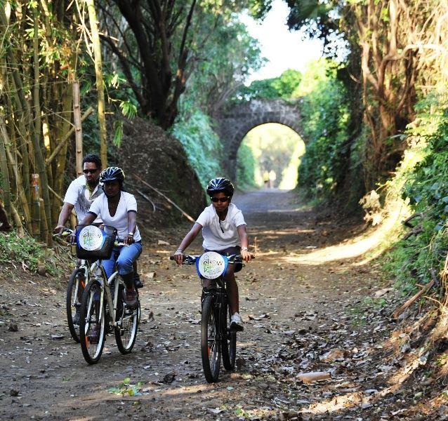 A la découverte de Ste-Suzanne à vélo