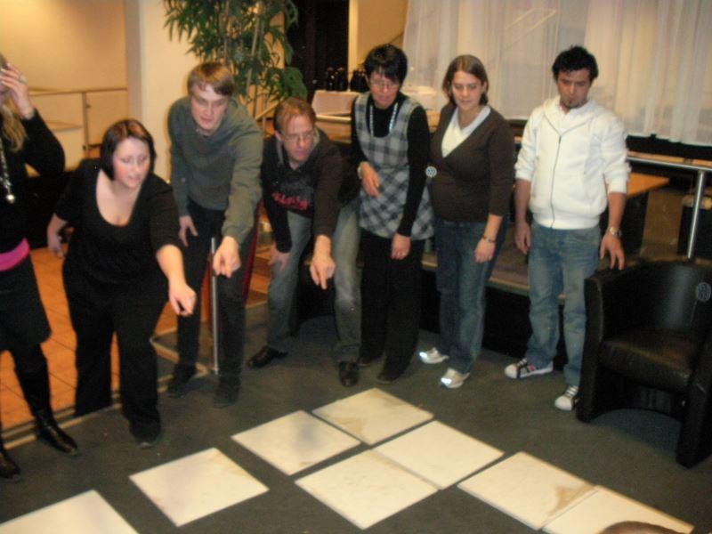 Teambuildingaktiviteter i centrala Umeå med Tallbacken Event