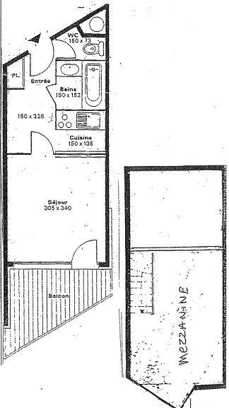SILVERALP 332 / APARTMENT 2 ROOMS 4 PEOPLE - 1 BRONZE SNOWFLAKE - CI