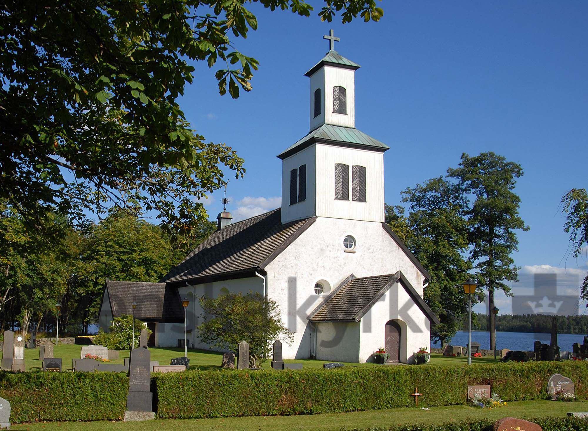 Bengt-Åke Fasth, Odensjö church