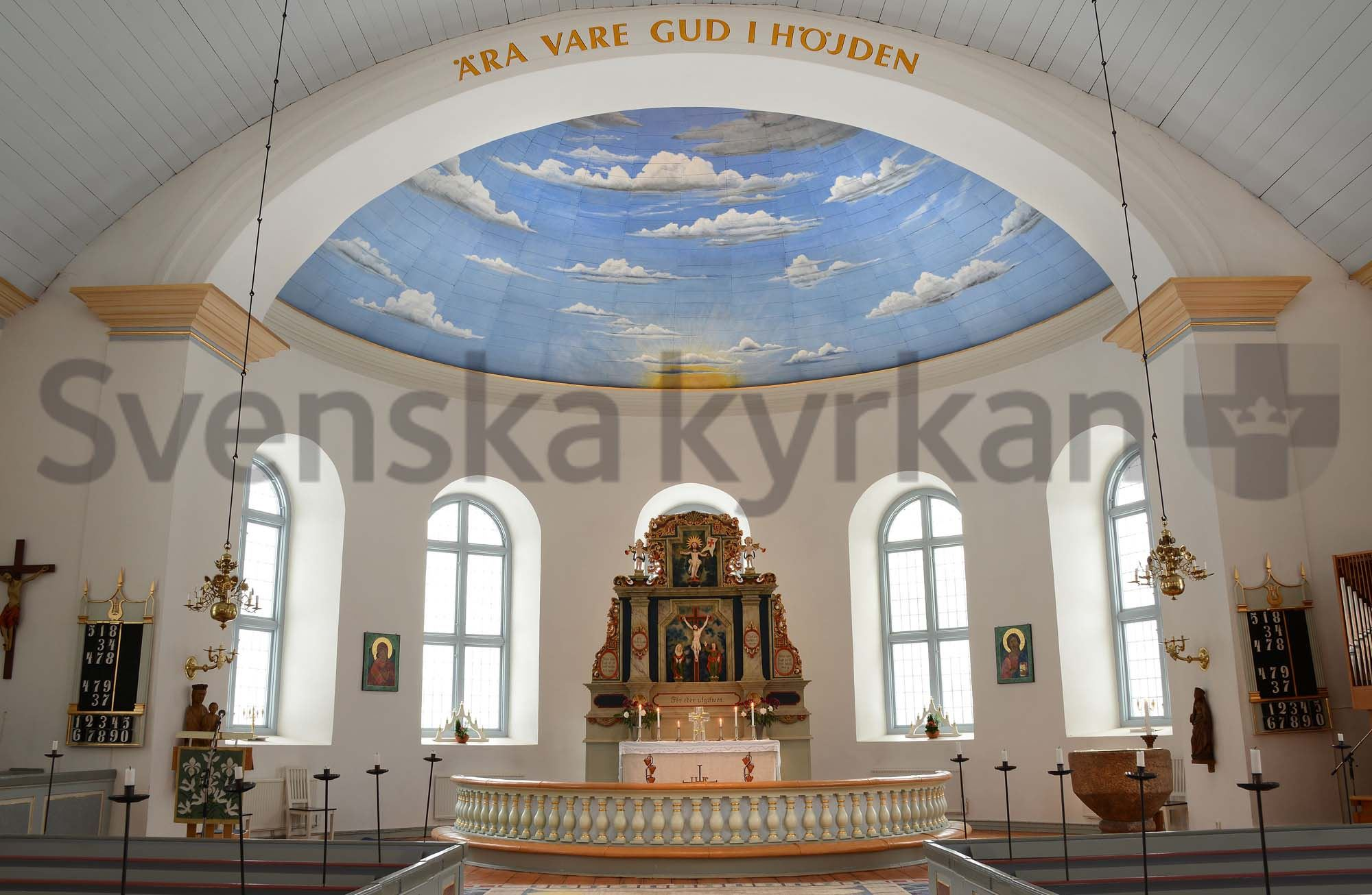 Bengt-Åke Fasth, Torpa kyrka