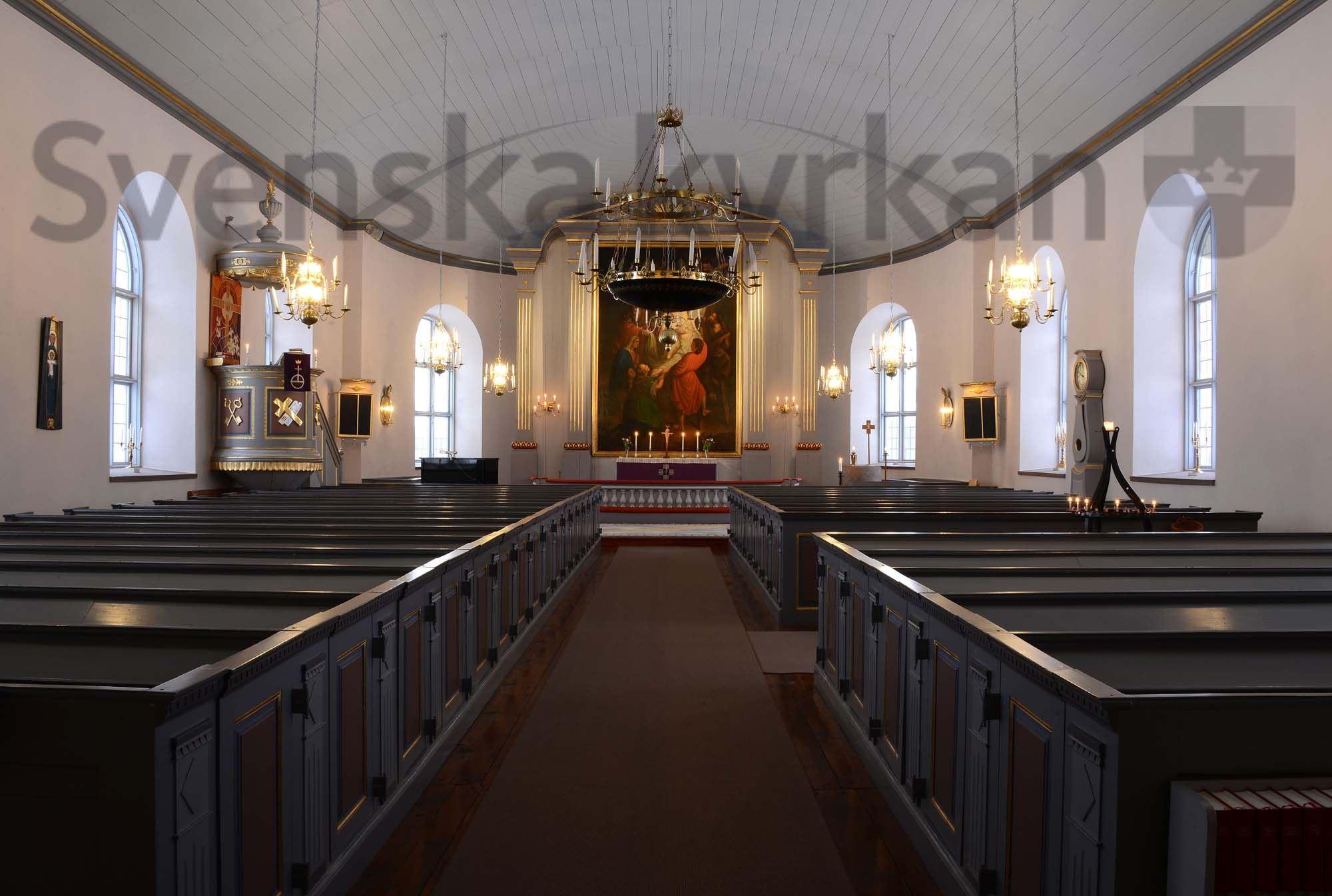 Bengt-Åke Fasth, Vrå kyrka
