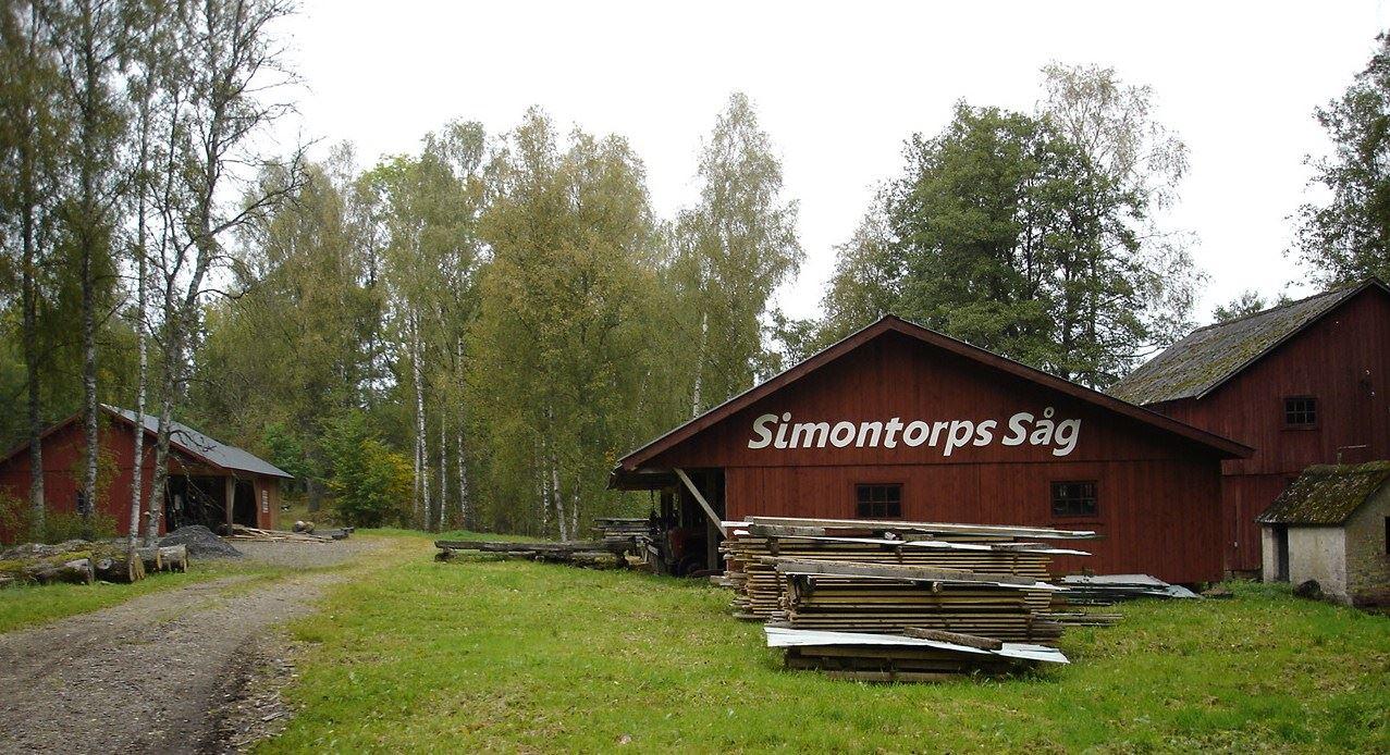 © Simontorp Konsult AB, Simontorps såg