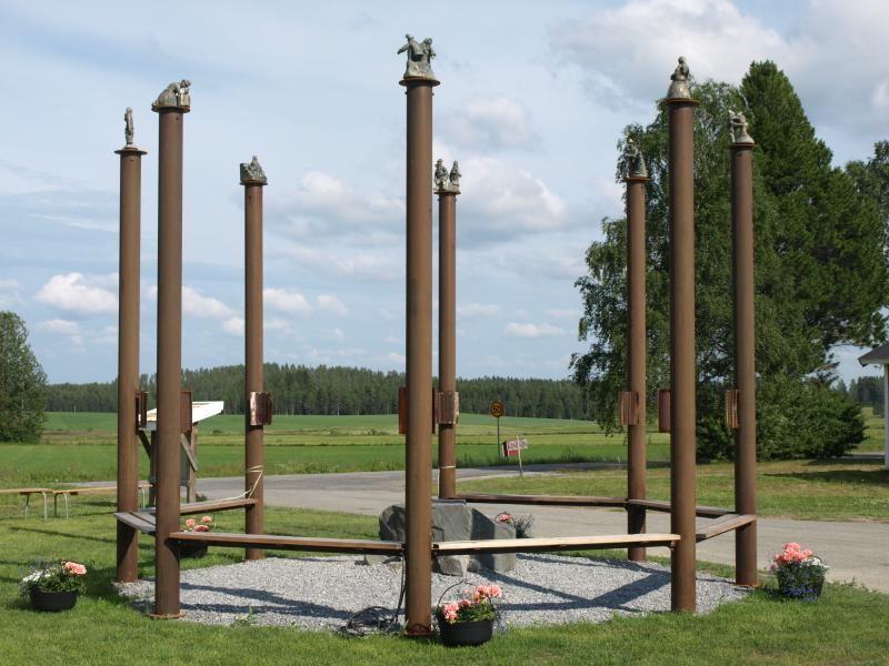 Bo Nilsson,  © Konstvägen Sju Älvar, Oh, you beautiful country - Konstvägen sju älvar