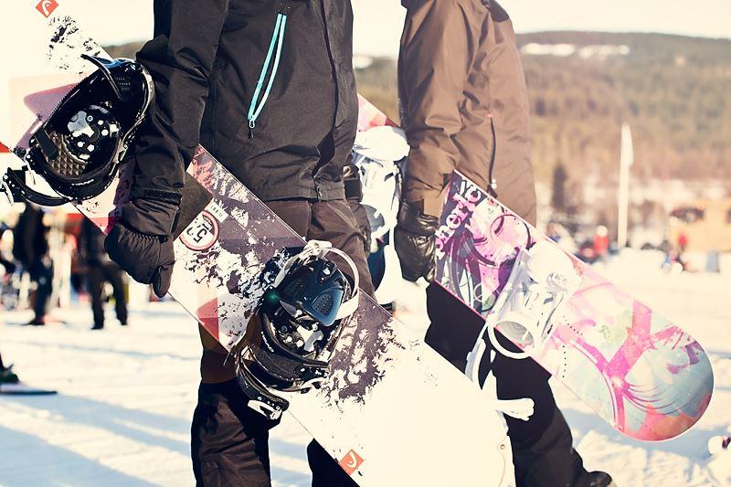 Gruppsnowboardskola