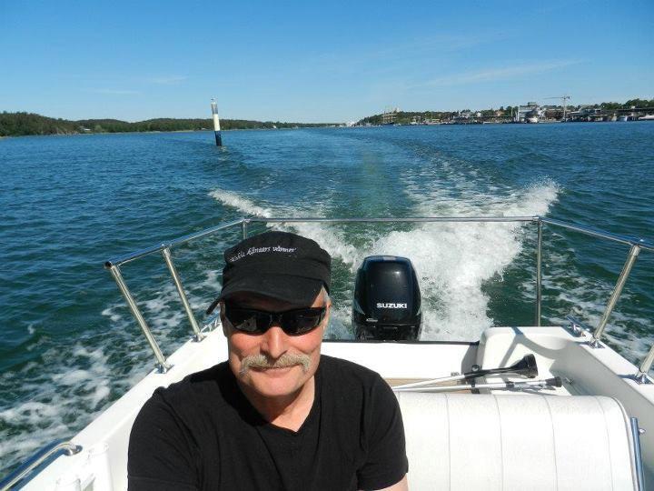 Fishing guide Bo-Erik Westberg