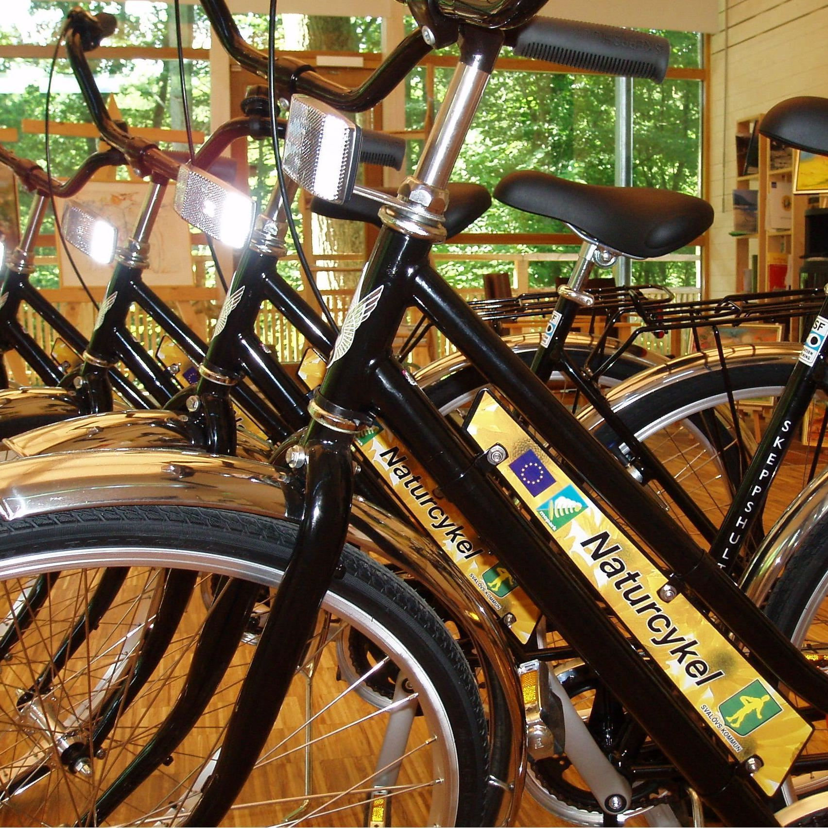 Röstånga Turistbyrå, Cycle hire at Röstånga Tourist Office