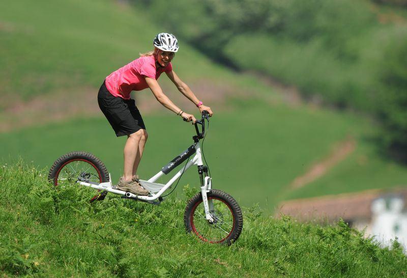 Activité Deval'Bike (trottinette de descente)