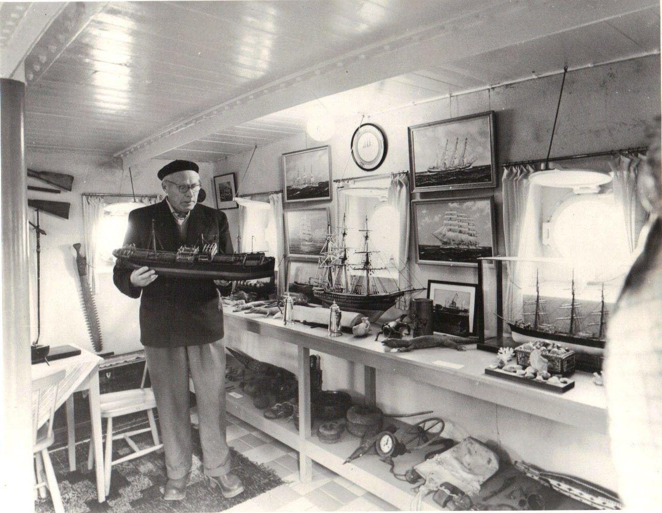 Tom Manhof, Svanshalls Sjöfartsmuseum