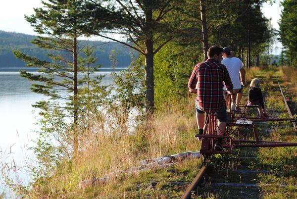 © Vansbroäventyr, Dressinåkning Vansbroäventyr
