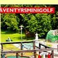 Mini golf at Kiviks Family camping