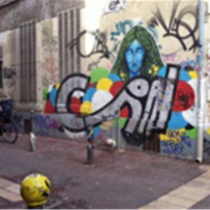 Street Art autour du Cours-Julien - (GB/ESP/Fr)
