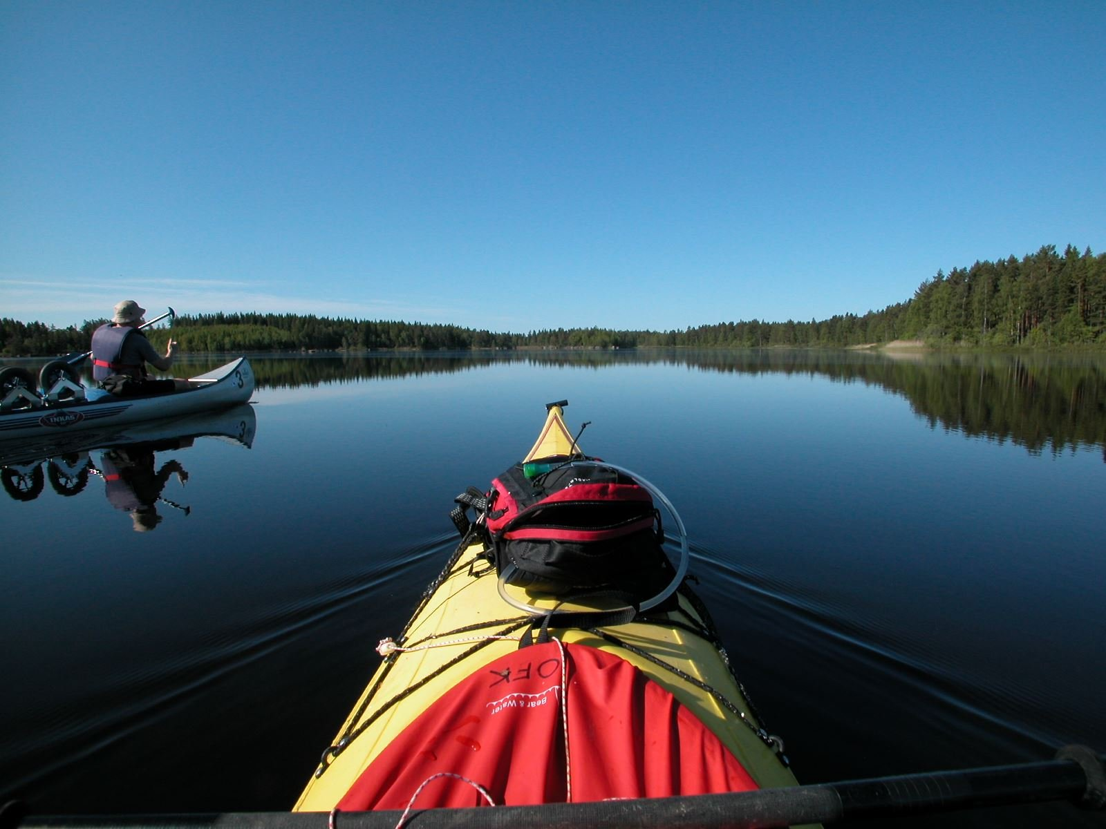 Rent a Kayak shortterm 4 hours or day (9:00-16:30)