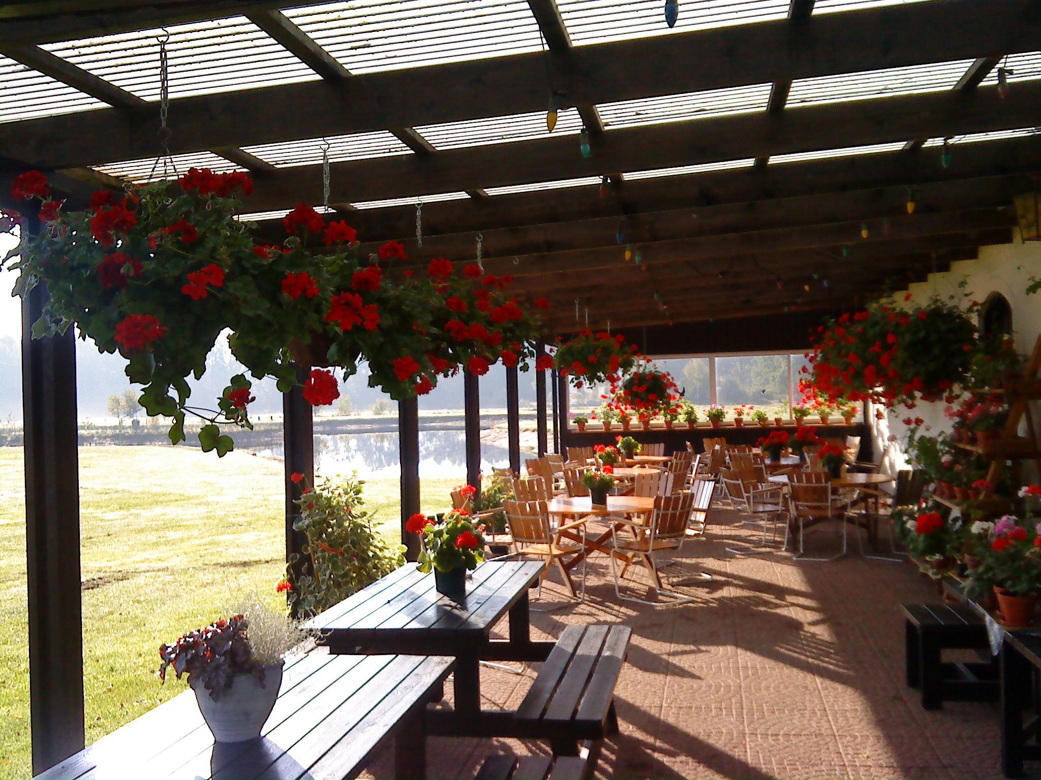 FOTO: Flädergården, Flädergårdens kaffestuga och gårdsbutik