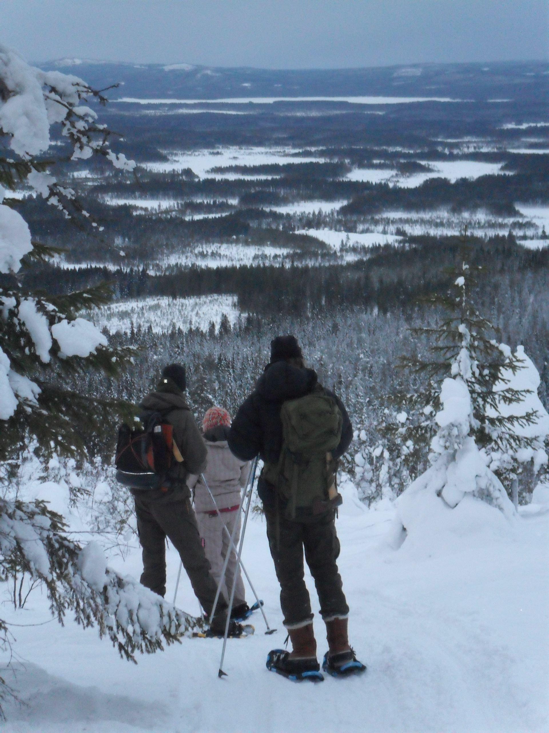 Yttermalungsäventyr guidade snöskovandring