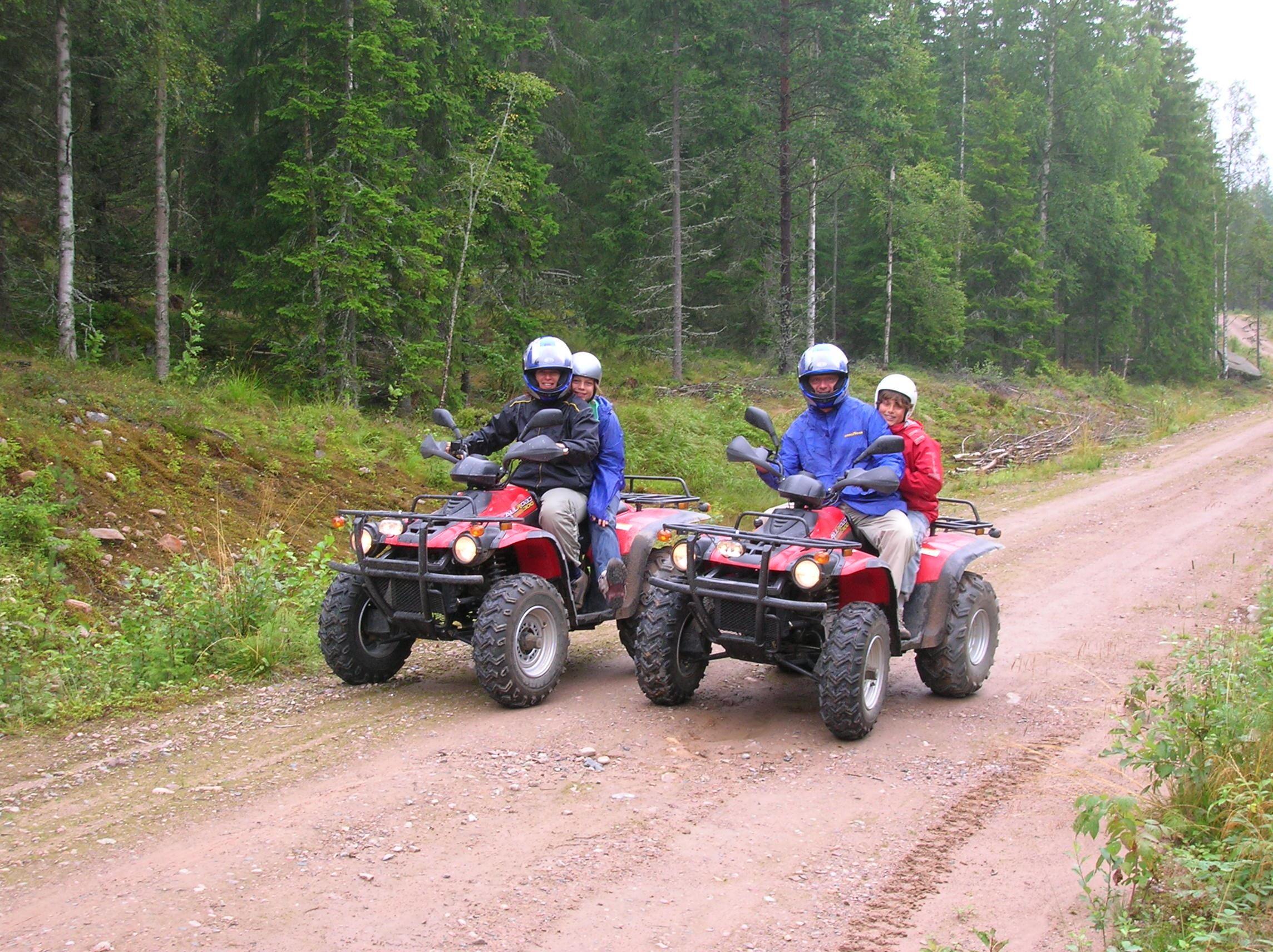 Yttermalungsäventyr guidade fyrhjulingssafari