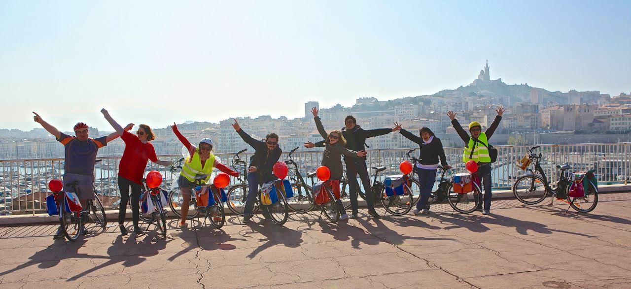 Journée de Marseille aux calanques à vélo électrique