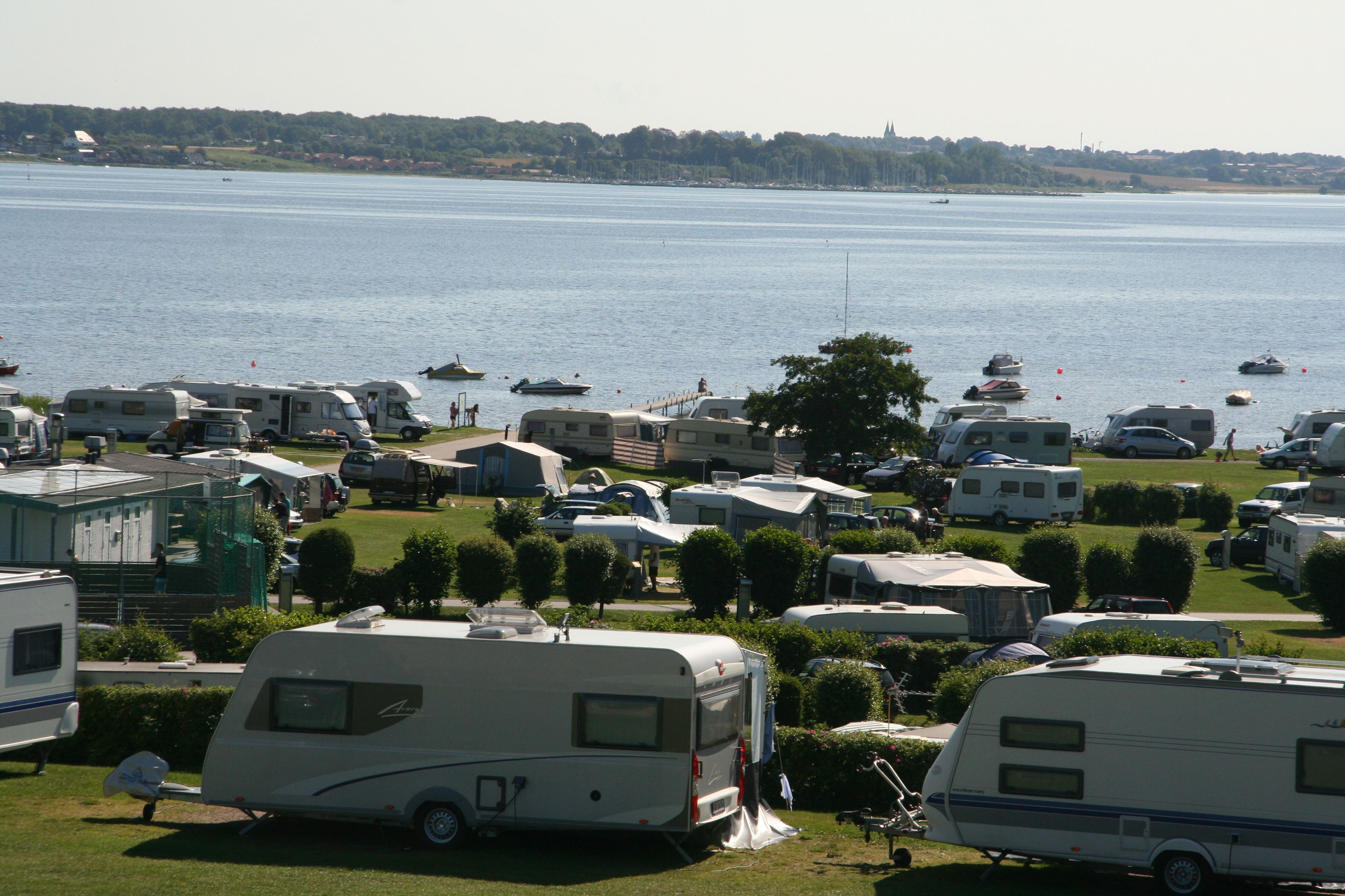 Universepackage at Lærkelunden Camping in own caravan or tent