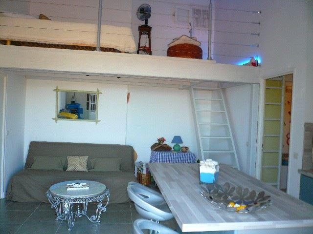 VI 060 - Studio + mezzanine - AIGUES MARINES - AGENCE CGI - BILLON
