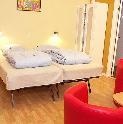 Feriecenter Samsø, værelser