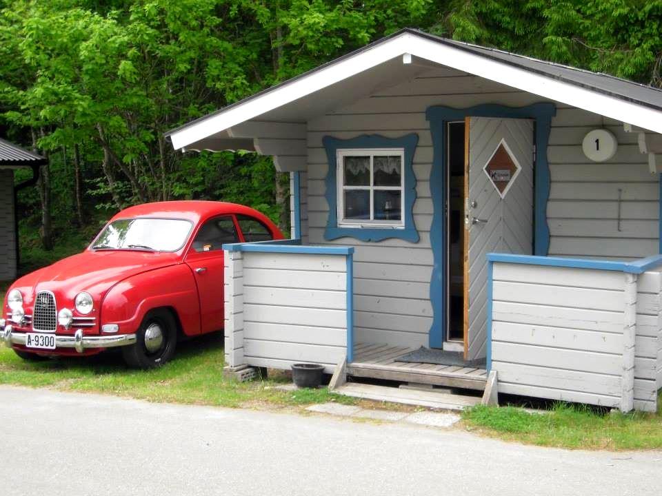 Stenrösets Camping/Ferienhaus