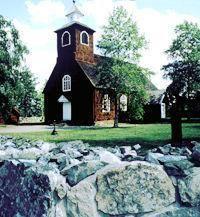 © Välkommen till Falun AB, The old church of Enviken