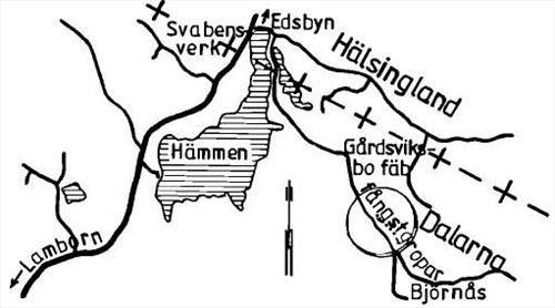 © Välkommen till Falun, Björnås Fångstgropar