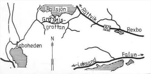 © Välkommen till Falun, Gråhålsgrottan