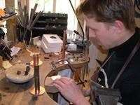 The Stone Polisher´s Workshop & The Silversmith