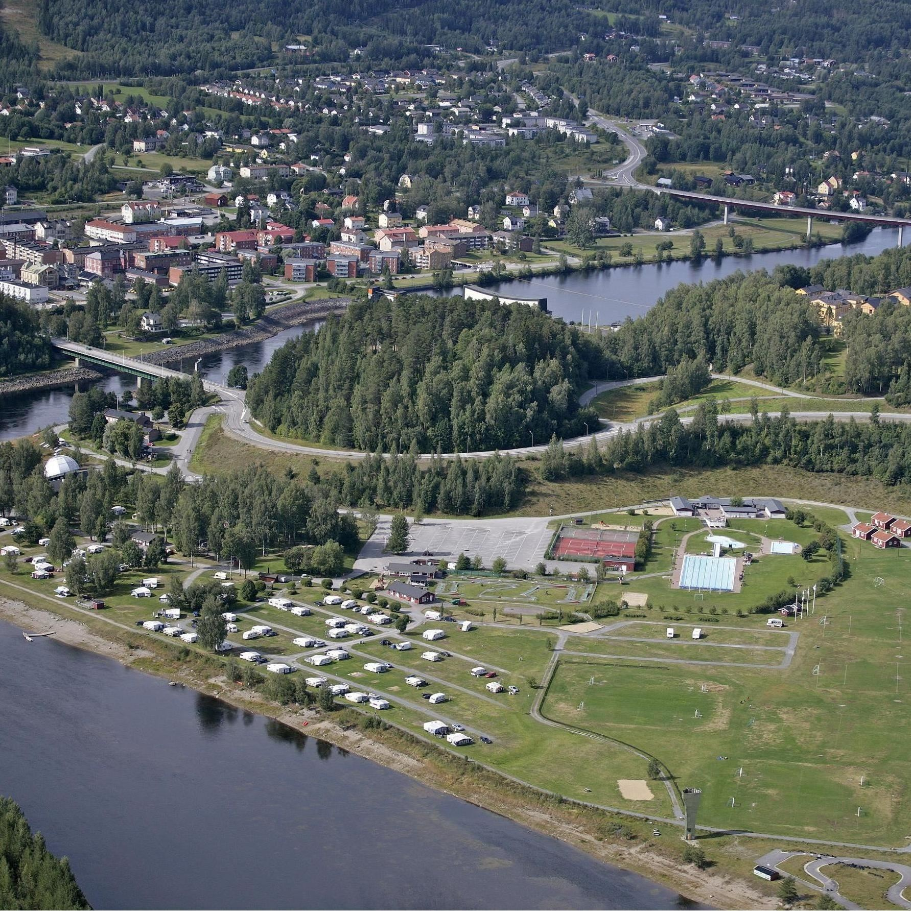 Sollefteå swimming and camping site