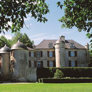 Château d'Urtubie : visite du parc et du château habité par la même famille depuis 1341
