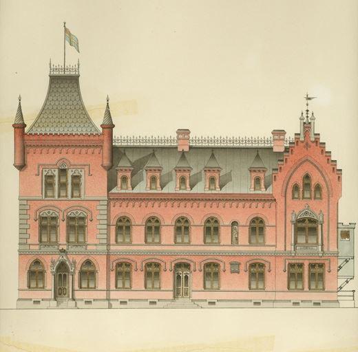Inrymmer Sollefteå Museum och biblioteket